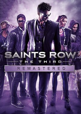 Saints Row: The Third Remastered постер (cover)