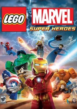 LEGO: Marvel Super Heroes постер (cover)