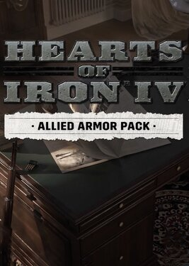 Hearts of Iron IV: Allied Armor Pack постер (cover)