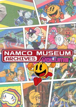 NAMCO MUSEUM ARCHIVES Volume 1 постер (cover)