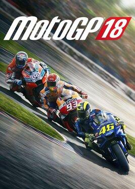 MotoGP 18 постер (cover)