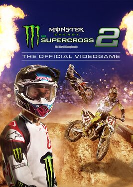 Monster Energy Supercross - The Official Videogame 2 постер (cover)