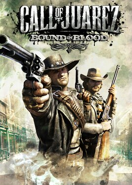 Call of Juarez: Bound in Blood постер (cover)