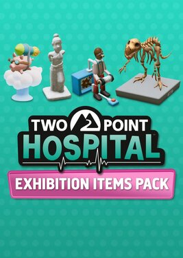 Two Point Hospital: Exhibition Items Pack постер (cover)
