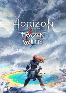 Horizon Zero Dawn: The Frozen Wilds постер (cover)