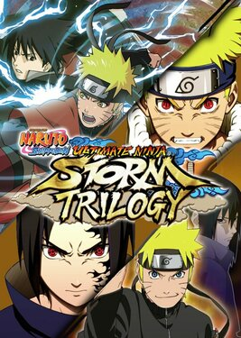 Naruto Shippuden: Ultimate Ninja Storm Trilogy постер (cover)