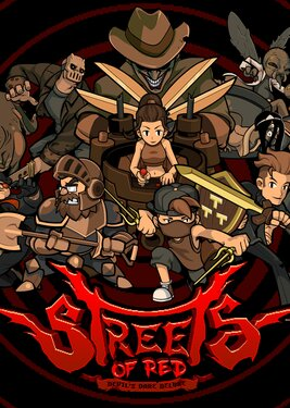 Streets of Red: Devil's Dare Deluxe постер (cover)