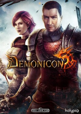 The Dark Eye: Demonicon постер (cover)