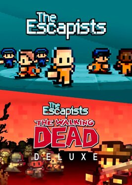 The Escapists + The Escapists: The Walking Dead Deluxe постер (cover)