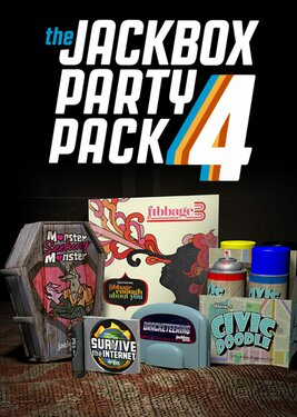 The Jackbox Party Pack 4 постер (cover)