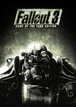 Fallout 3 - Game of the Year Edition постер (cover)