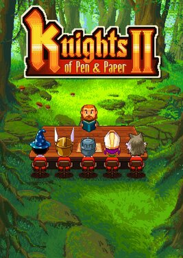 Knights of Pen and Paper 2 постер (cover)