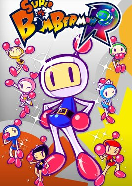 Super Bomberman R постер (cover)