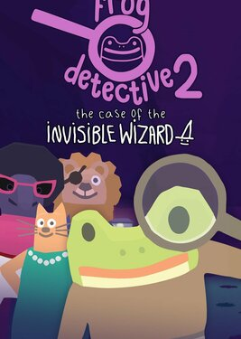Frog Detective 2: The Case of the Invisible Wizard постер (cover)