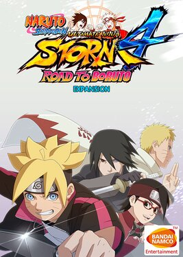 Naruto Storm 4: Road to Boruto Expansion постер (cover)