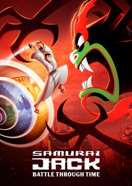 Samurai Jack: Battle Through Time постер (cover)