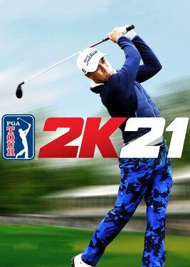 PGA TOUR 2K21 постер (cover)