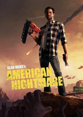 Alan Wake's American Nightmare постер (cover)