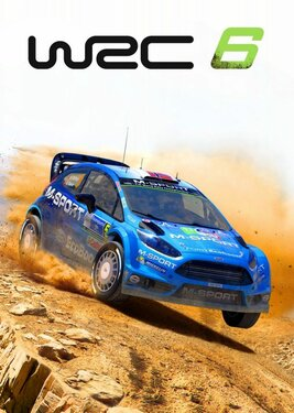 WRC 6: FIA World Rally Championship постер (cover)