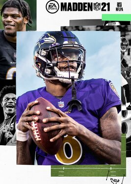 Madden NFL 21 постер (cover)