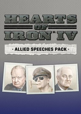 Hearts of Iron IV: Allied Speeches Pack постер (cover)
