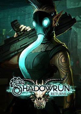Shadowrun Returns постер (cover)