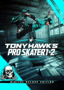 Tony Hawk's Pro Skater 1 + 2 - Deluxe Edition постер (cover)