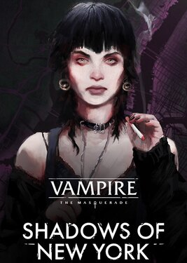 Vampire: The Masquerade - Shadows of New York постер (cover)