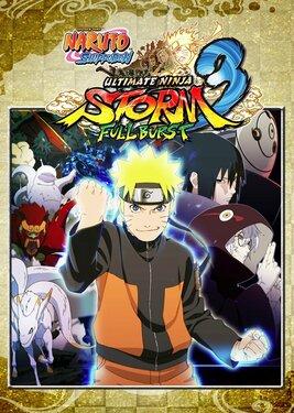 Naruto Shippuden: Ultimate Ninja Storm 3 Full Burst HD постер (cover)