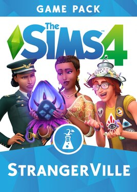 The Sims 4 - StrangerVille постер (cover)