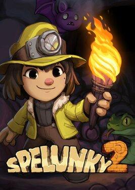 Spelunky 2 постер (cover)