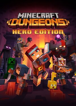 Minecraft: Dungeons - Hero Edition постер (cover)