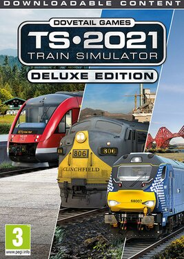 Train Simulator 2021 - Deluxe Edition постер (cover)