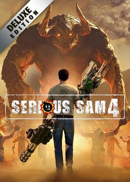Serious Sam 4 - Deluxe Edition постер (cover)