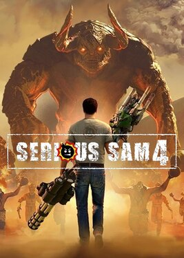 Serious Sam 4 постер (cover)