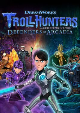 Trollhunters: Defenders of Arcadia постер (cover)