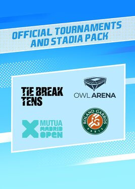 Tennis World Tour 2 - Official Tournaments and Stadia Pack постер (cover)
