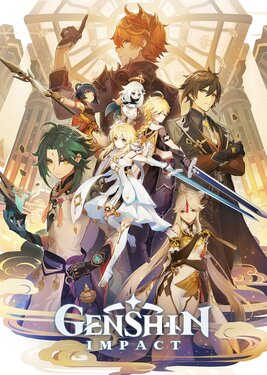 Genshin Impact постер (cover)