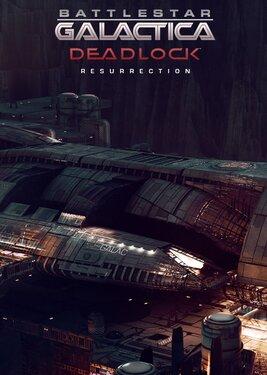 Battlestar Galactica Deadlock: Resurrection постер (cover)