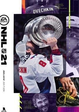 NHL 21 - Deluxe Edition постер (cover)