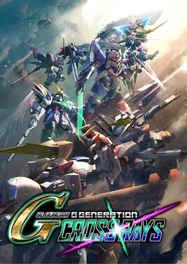 SD GUNDAM G GENERATION CROSS RAYS постер (cover)
