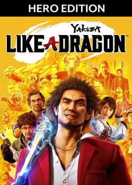 Yakuza: Like a Dragon - Hero Edition постер (cover)