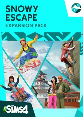 The Sims 4 - Snowy Escape Expansion Pack постер (cover)