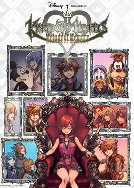 Kingdom Hearts: Melody of Memory постер (cover)
