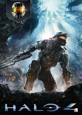 Halo 4 постер (cover)
