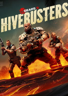 Gears 5 - Hivebusters постер (cover)