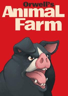 Orwell's Animal Farm постер (cover)
