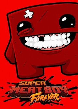 Super Meat Boy Forever постер (cover)