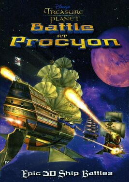 Disney's Treasure Planet: Battle of Procyon постер (cover)