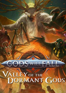 Gods Will Fall - The Valley of the Dormant Gods постер (cover)